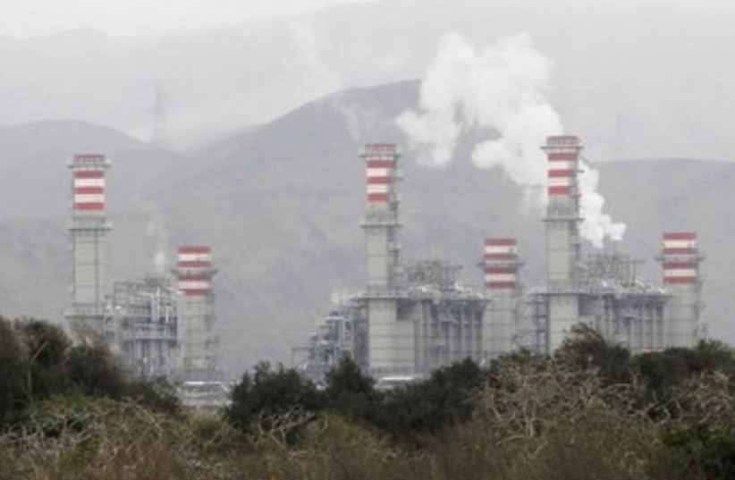 Peru power plant 370 (photo credit: REUTERS)