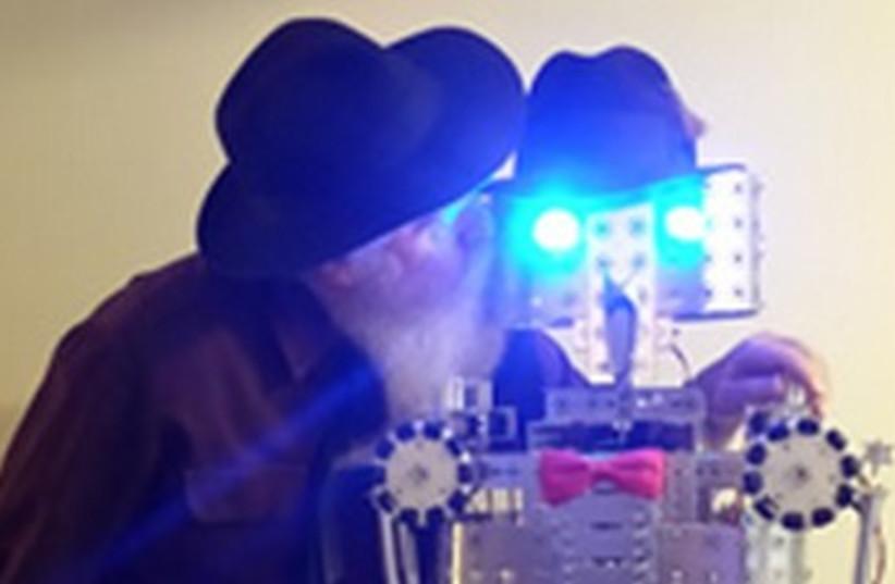 Hasidic robot 370 (photo credit: Courtesy Chabad)