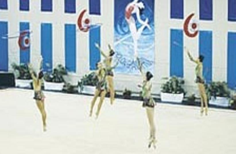 Israeli gymnastics 224.8 (photo credit: Asaf Kliger)
