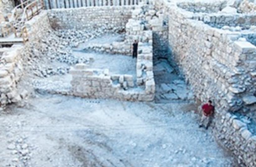 City of David 370 (photo credit: Assaf Peretz/Antiquities Authority)