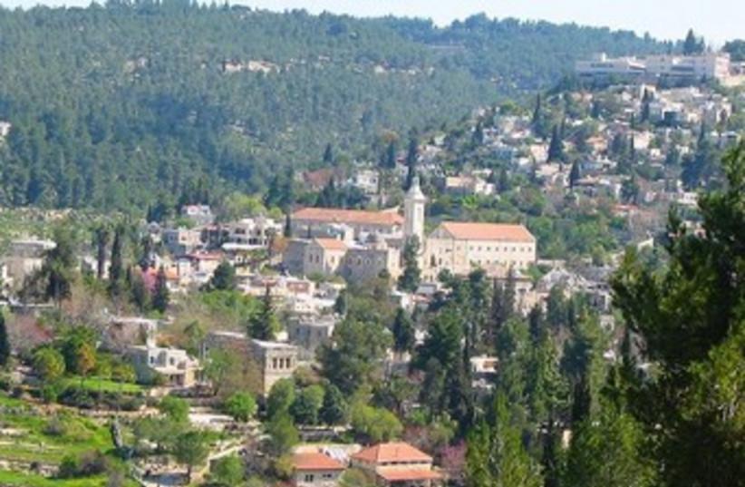 Jerusalem's Ein Kerem area 370 (photo credit: Wikimedia Commons)