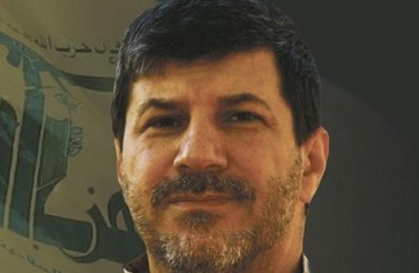 Hezbollah commander Hassan al-Laqqis 370 (photo credit: Al Manar screenshot)
