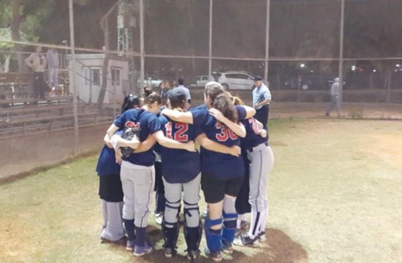 Women's softball league 521 (photo credit: Courtesy)