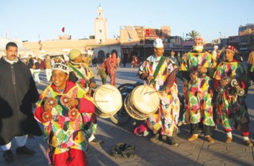 Entertainers in Marrakech 370 (photo credit: Ben G. Frank)