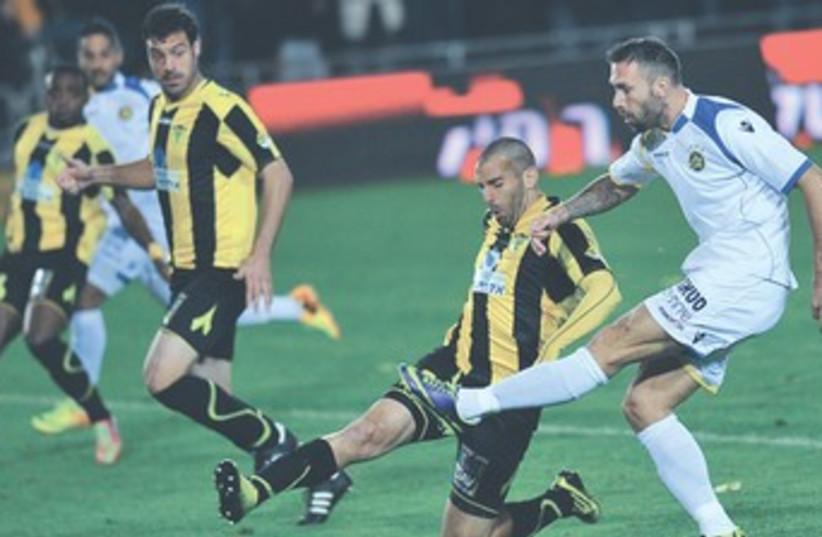 Maccabi Tel Aviv striker Rade Prica 370 (photo credit: Asaf Kliger)