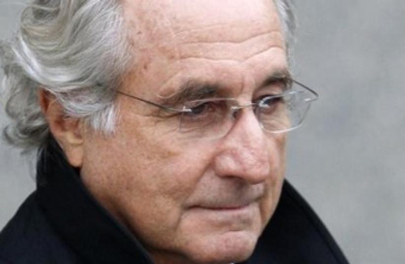 Bernard Madoff 370 (photo credit: REUTERS)