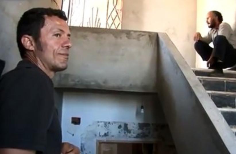 Kidnapped Spanish journalist Javier Espinosa 370 (photo credit: YouTube screenshot.)