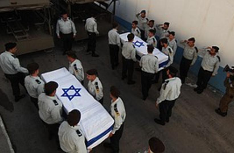 coffins rosh hanikra 298 (photo credit: IDF)