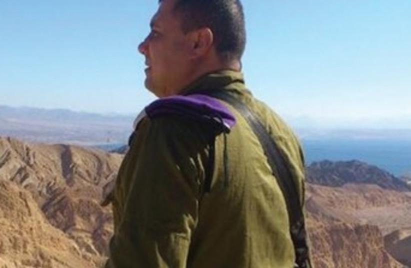 Maj. Waleed Swaled 370 (photo credit: Yaakov Lappin)