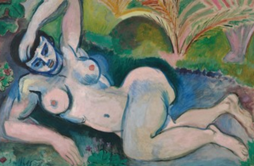 Blue Nude by Matisse 370 (photo credit: The Baltimore Museum of Art/Succession H. Matisse/)