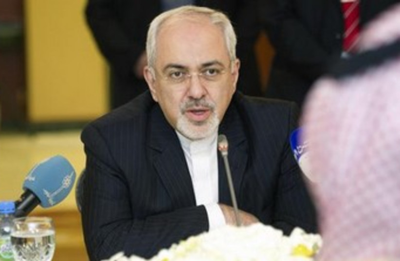 Iranian Foreign Minister Zarif 370 (photo credit: REUTERS/Stephanie McGehee)