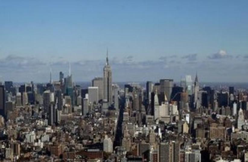 New York City skyline 370 (photo credit: REUTERS/Mike Segar)