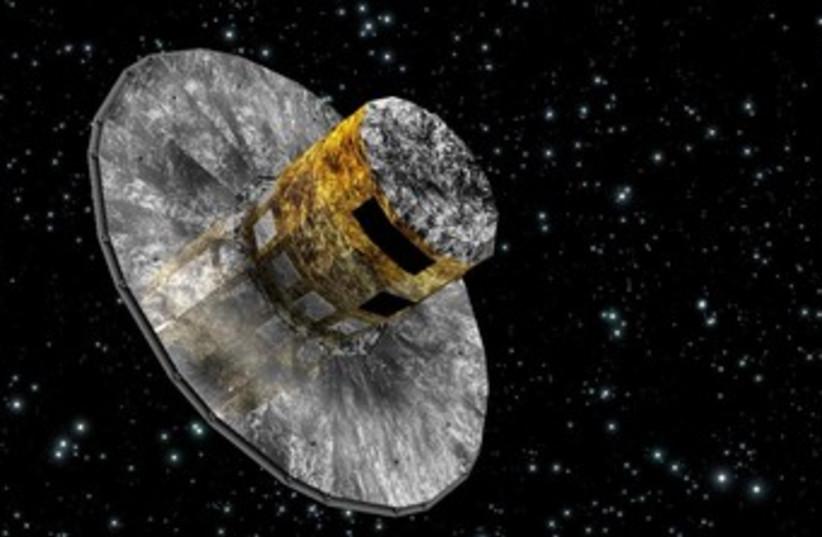TAU space vehicle Gaia 370 (photo credit: TAU)