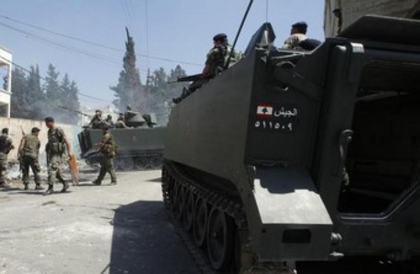 Syiran army Salafists 370 (photo credit: Reuters)