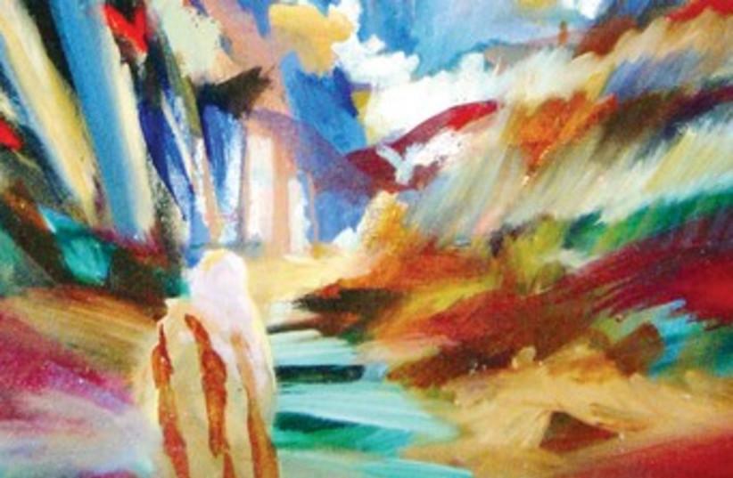 raanan painting 370 (photo credit: Painting courtesy of Yoram Raanan)