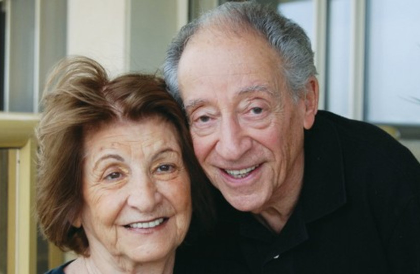 cute old couple 521 (photo credit: GLORIA DEUTSCH)