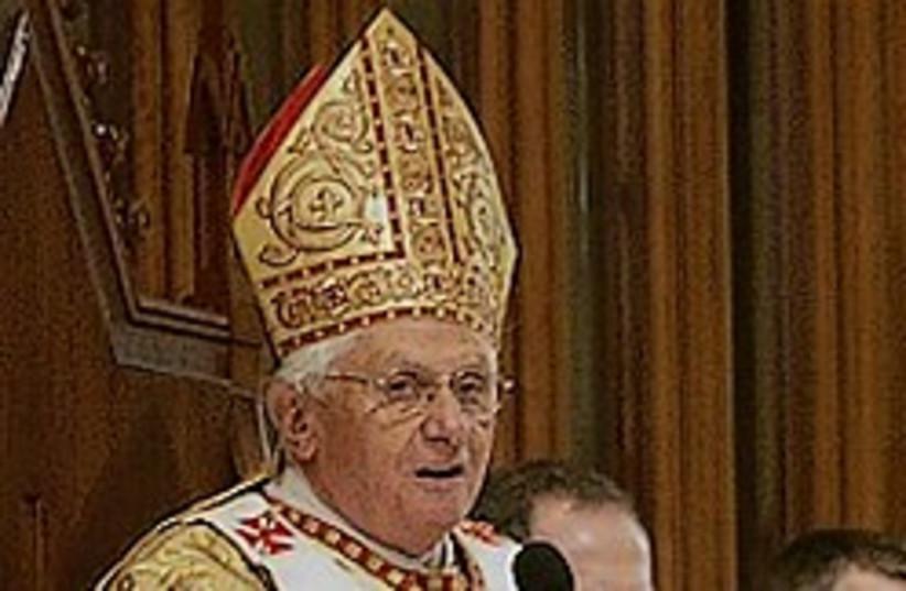 Pope Benedict 248.88 (photo credit: AP [file])