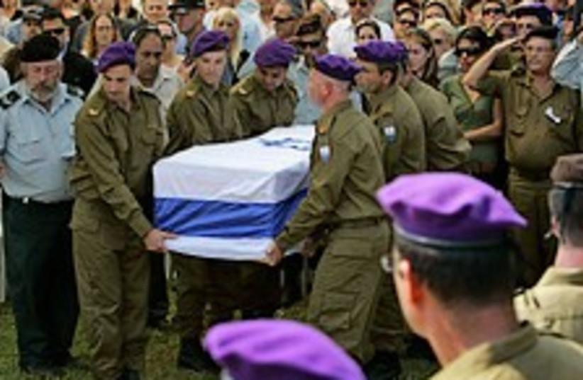 goldwasser funeral 224ap (photo credit: AP)