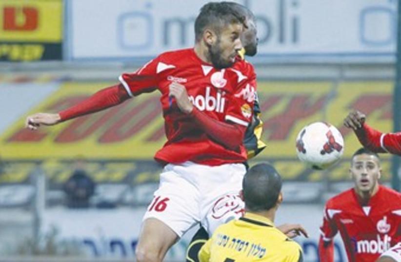 Hapoel Beersheba striker Glynor Plet 370 (photo credit: Adi Avishai)