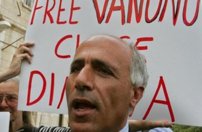 Israel Israel News Mordechai Vanunu (photo credit: Reuters)
