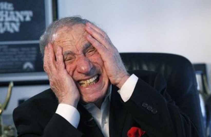 Mel Brooks (photo credit: Reuters)
