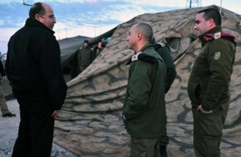 Defense Minister Moshe Yaalon  (photo credit: Ariel Hermoni, Defense Ministry spokesman)