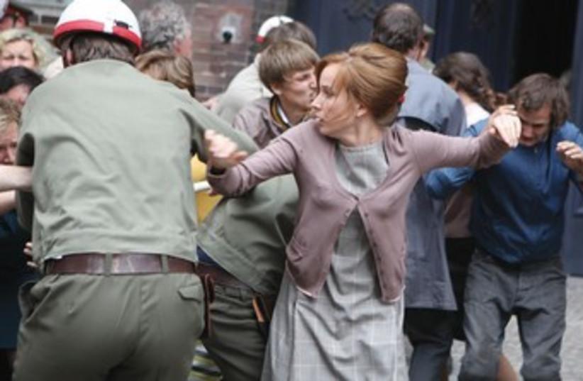 Agnieszka Holland's HBO docudrama 'Burning Bush.' ( (photo credit: courtesy HBO)