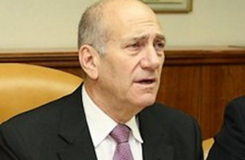 Olmert cabinet frowns 22 (photo credit: Ariel Jerozolimski)