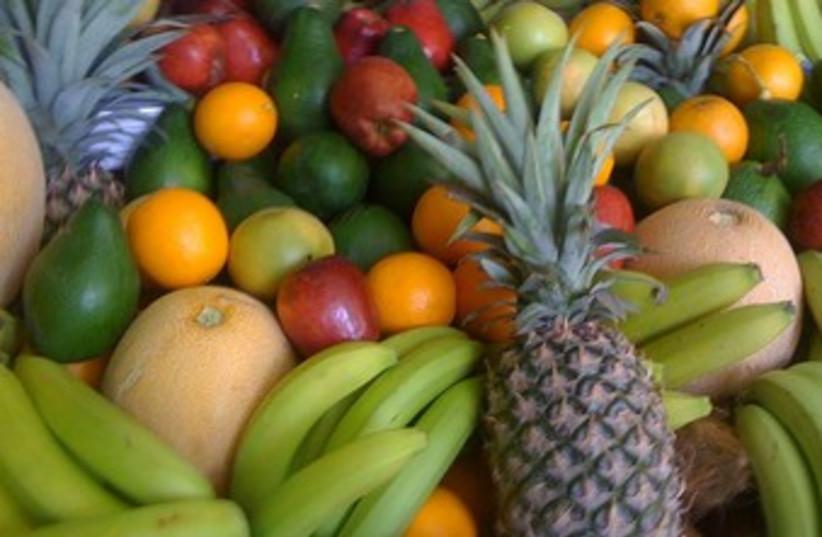Fresh fruit. (photo credit: Wikimedia commons/ Mervat Salman)