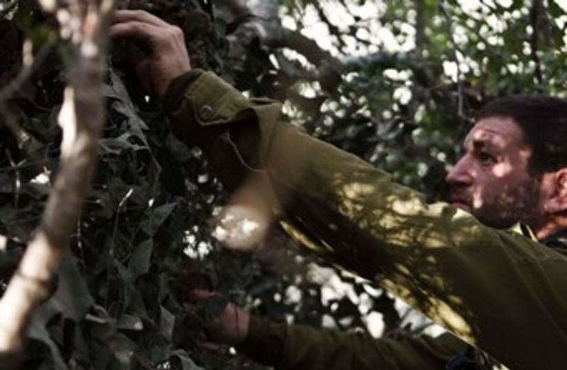IDF Paratroopers camouflage 370 (photo credit: IDF Spokesperson)
