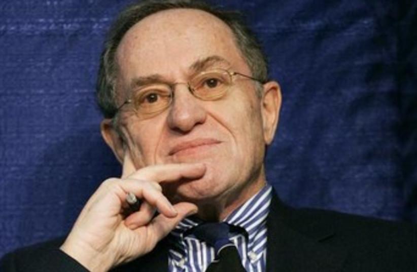 Alan Dershowitz (photo credit: REUTERS/Brian Snyder)