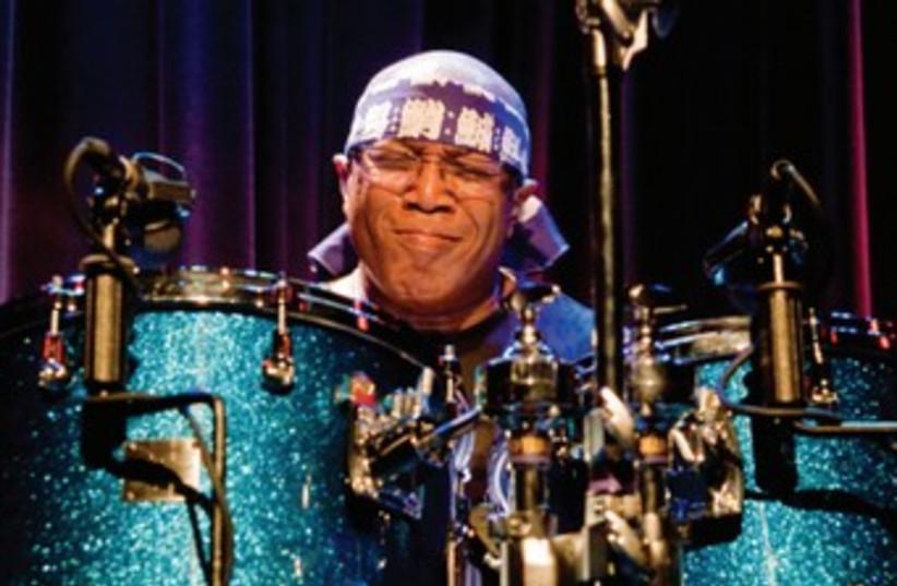 Veteran jazz fusion drummer Billy Cobham (photo credit: jpost.com )