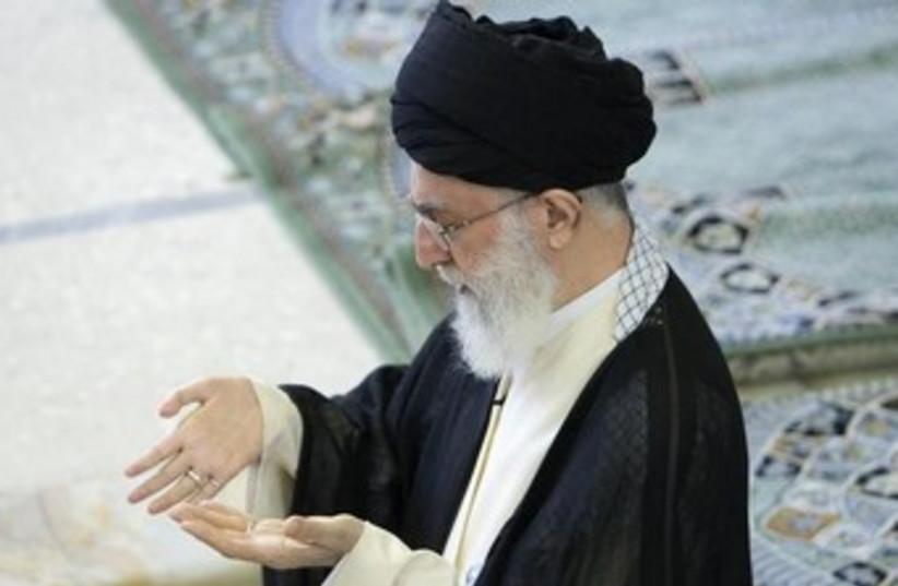 Ayatollah Khamenei (photo credit: Reuters)