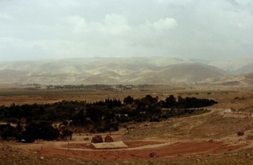 Jordan Valley. (photo credit: Wikimedia Commons)