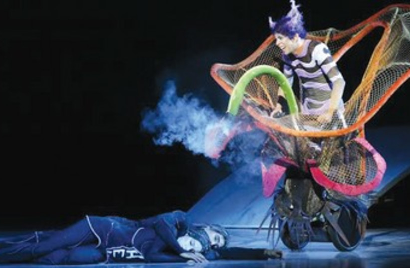 'The Nutcracker' performed by Ballet De Monte Carlo. (photo credit: Mari-Laure Brianne)