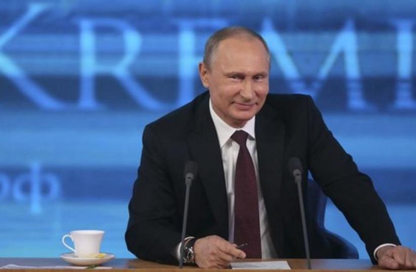 Vladimir Putin. [File] (photo credit: REUTERS)
