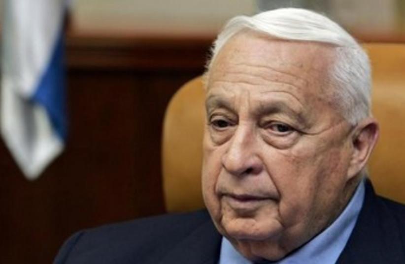 Ariel Sharon. (photo credit: REUTERS/Ronen Zvulun)