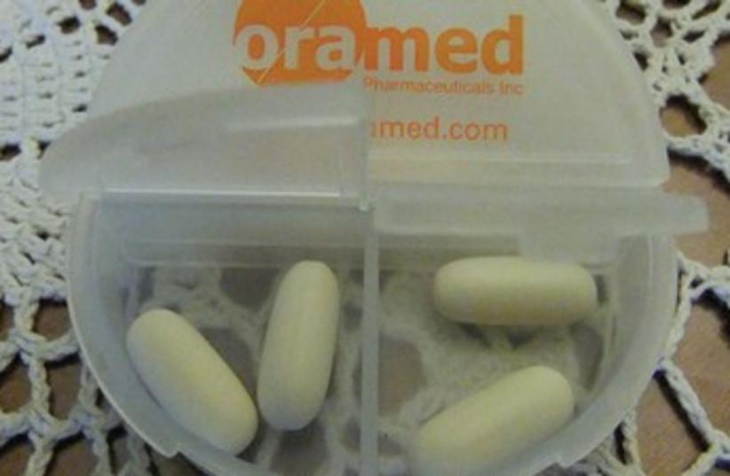 Oramed Pharmaceuticals company. (photo credit: Judy Siegel-Itzkovich)