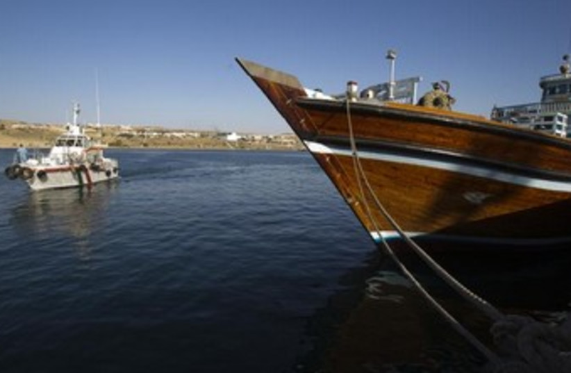 A general view of the port of Kalantari in the city of Chabahar. (photo credit: REUTERS)