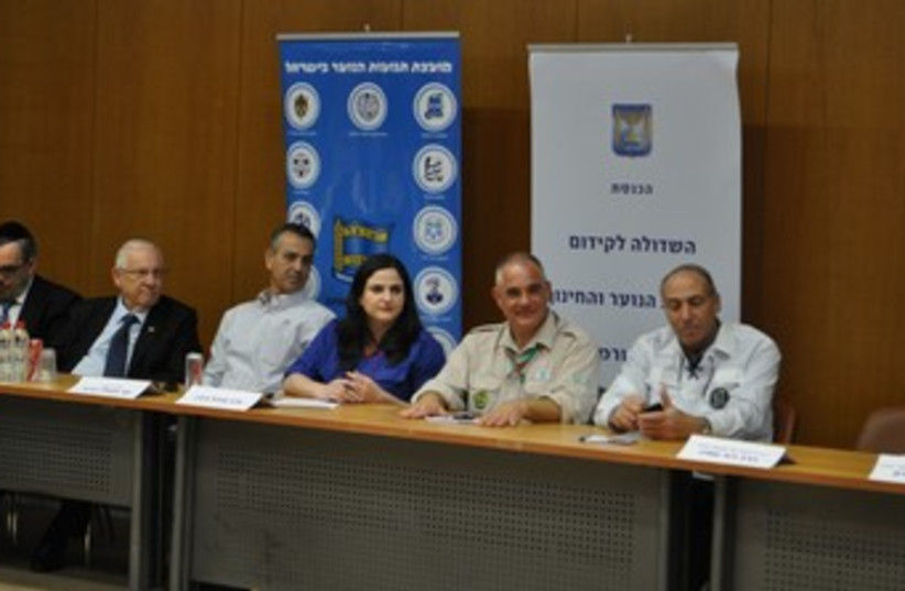 A meeting of the Knesset Caucus for Youth Groups. (photo credit: MK Michal Biran's Office)