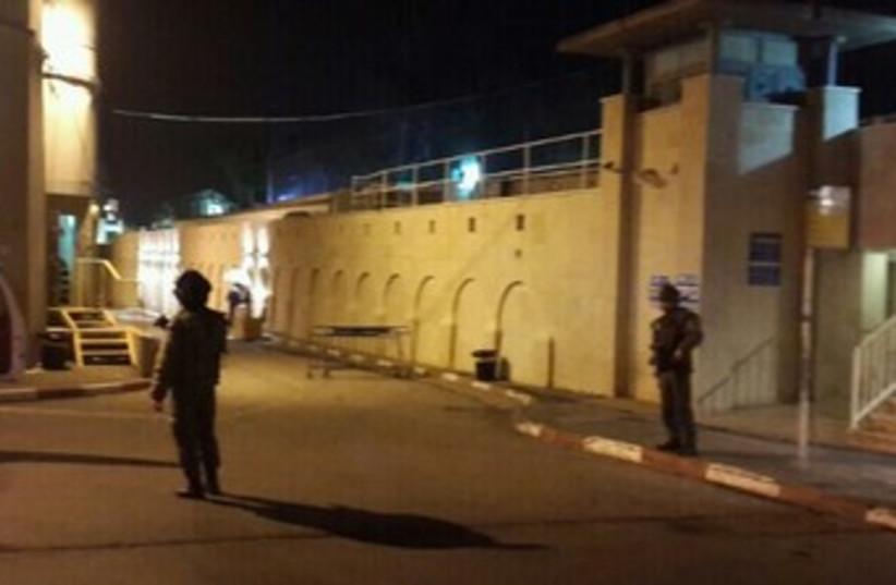 IDF troops on duty near Bethlehem (photo credit: Udi Gal)