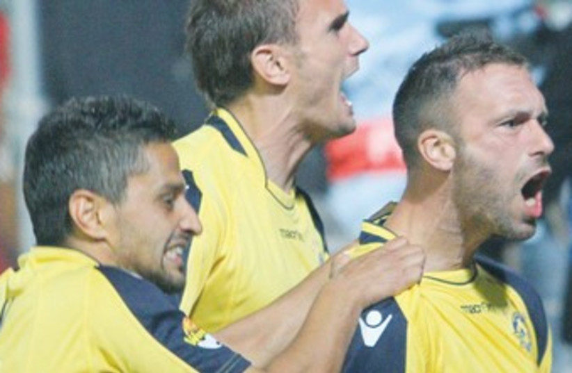 Maccabi Tel Aviv soccer 370 (photo credit: Adi Avishai)