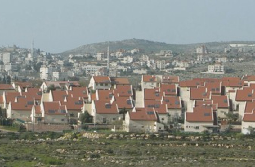 The West Bank settlement of Ofra, north of Ramallah 370 (photo credit: Reuters)