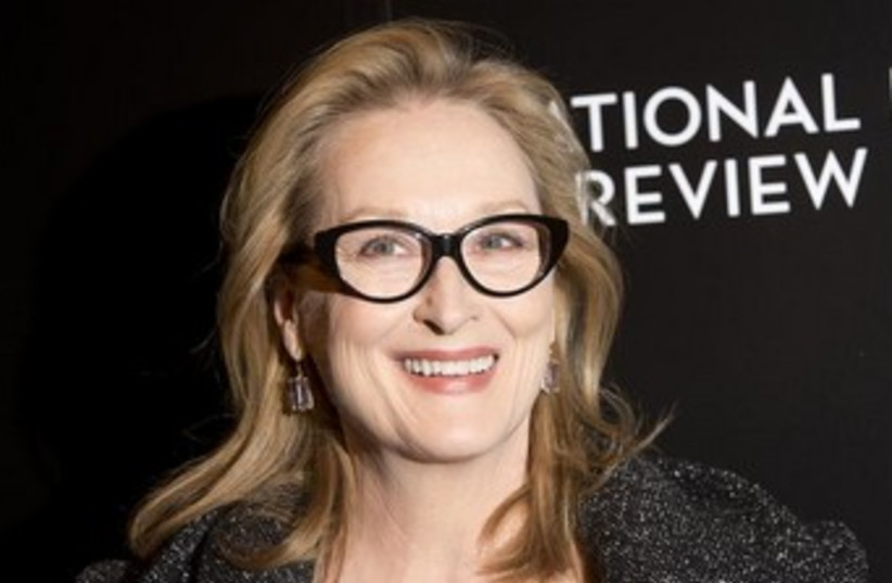 Meryl Streep (photo credit: Reuters)
