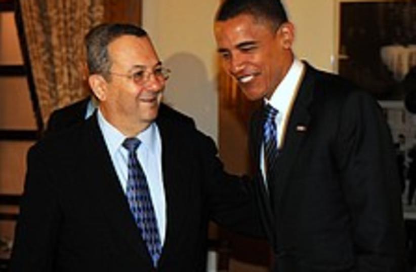 ehud barak obama 224 88 (photo credit: Ariel Hermoni\Defense Minister's Office [file])