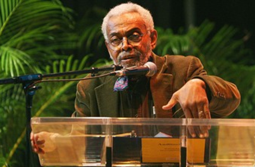 Poet Amiri Baraka. (photo credit: Wikimedia Commons)