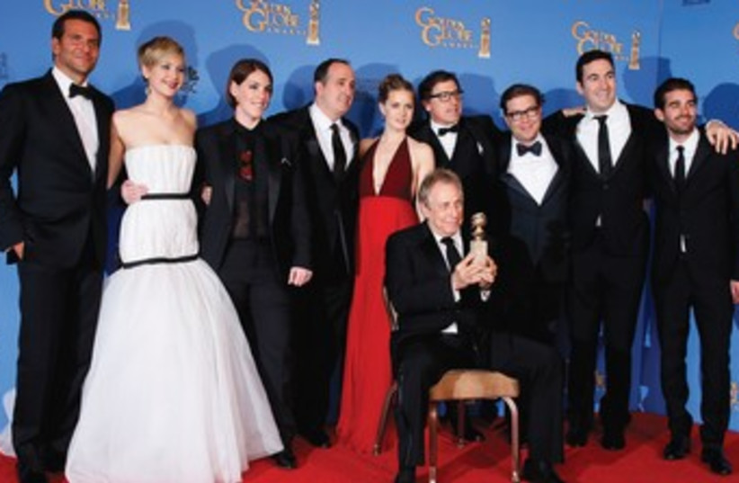 The cast of 'American Hustle.' (photo credit: REUTERS)