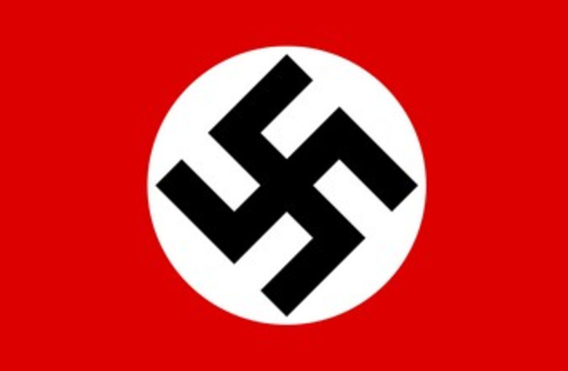 Nazi flag (photo credit: Wikimedia Commons)
