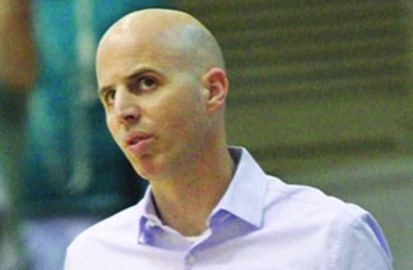 Maccabi Haifa coach Danny Franco (photo credit: Adi Avishai)