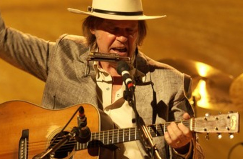 Legendary rocker Neil Young (photo credit: Courtesy)